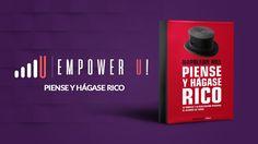 """Descarga en Mega """"Piense y Hágase Rico"""". Uno de los mejores """"best-sellers"""" de finanzas e inteligencia financieras. Escrito por Napoleon Hill."""
