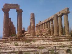 Tempio di Hera Lacina Valle dei Templi Agrigento