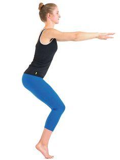 Pour renforcer le bas du corps et développer la stabilité, on essaie ces 3 exercices de squats! À intégrer dans notre routine d'entraînement! Position-Squat-2