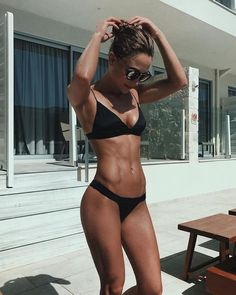 BEACH BODY GOALS #beachbabe #paradise #swimwear #summer #summervibes #islandlife #bikinigirl #fitnessmotivation