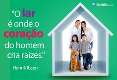 Familia.com.br | Como o amor contribui para o lar doce lar #Familia #Lar