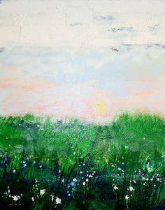 """Saatchi Online Artist Stephanie Warburg; Painting, """"Secret Path"""" #art"""