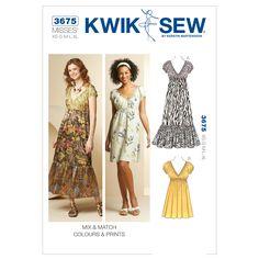 Mccall Pattern K3675 Xs-S-M-L-X-Kwik Sew Pattern