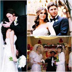 Their weddings