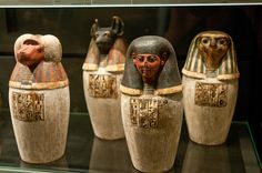 AMC_5118 (by anne mcglynn) Egyptian Canopic Jars