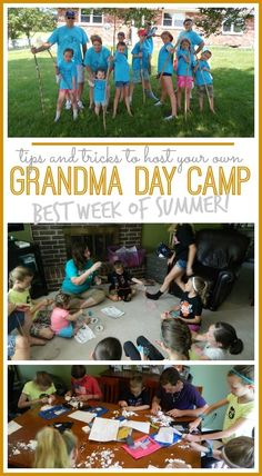 grandma day camp tips and tricks - sugar bee crafts