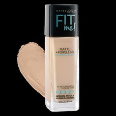 FIT ME!® MATTE + PORELESS FOUNDATION