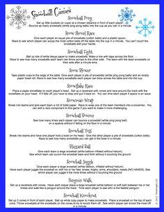 Snowball Games - ThinkingIQ
