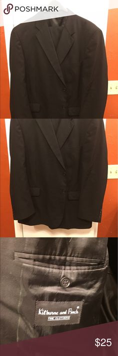 Black suit. 46L 46L black suit kitburne and finch Suits & Blazers Suits