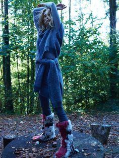 Annely Bouma | Layered Winter Fashion Editorial | TELVA