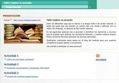 Secuencia didáctica para la aplicación didáctica de las TIC en Educación Secundaria. Taller creativo: la narración   Literatura y lengua