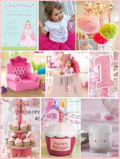 1st birthday party ideas for girls | … high, perfect for a first birthday princess. Throne at First Wishes | best stuff