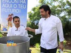 Edu Guedes prepara feijoada  e caipirinha na Ilha da Madeira