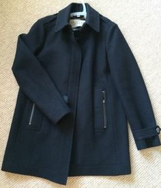 Burberry Brit Black Peacoat | eBay #burberry #burberrybrit #burberrypeacoat #blackpeacoat #peacoat #woolpeacoat #consignment #womenswear #womenscoats #wintercoats #woolcoats #fashion #designercoats #designer #apparel