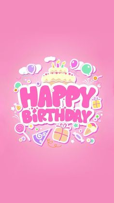 Happy birthday card: Creared by Ruby Ribbon Greeting Cards. https://play.google.com/store/apps/details?id=com.dohimi.all.greeting.cards