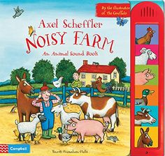 Buy Axel Scheffler Noisy Farm at Mighty Ape NZ. Press the buttons and join in with all the noisy animals! The animals are having a VERY noisy time on the farm in this fantastically fun new sound boo. Free Books, Good Books, Amazing Books, Axel Scheffler, The Gruffalo, Fun Activities To Do, Electronic Gifts, Book Format, Book Gifts