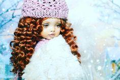 Рождественский ангел  Ингрид #куклаангел #шарнирнаякукла #авторскаякукла #авторскаяигрушка #новыйгод2017 #своимируками #ручнаяработа #хендмейд