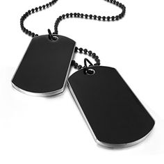 """40 Inch Military Spec Stainless Steel Army Dog Tag 2.4mm Ball 40/"""" Chain"""
