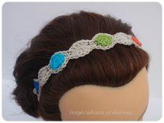 Bandeau arc-en-ciel pour les cheveux � faire soi-m�me