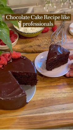Dump Cake Recipes, Fun Baking Recipes, Eggless Recipes, Baking Hacks, Cooking Recipes, Mini Desserts, Summer Desserts, Just Desserts, Buttercream Cake
