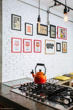 Cozinha integrada em...