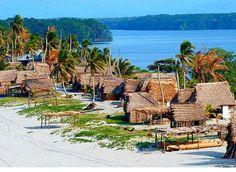 Comunidad garifuna de Miami en Tela, Honduras