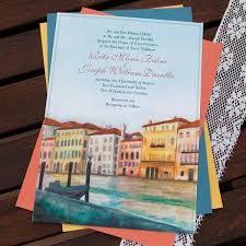 Venice Wedding Invitation Google Search