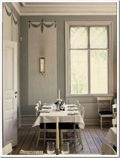 Gustavian Style Decorating | Gustavian Home In Stockholm3 Gustavian Style: Warm Or Cool Tones?