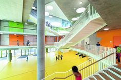 Secondary School Ergolding | Ergolding | Germany | Colour in Architecture 2014 | WAN Awards