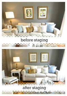 Rachelu0027s Nest: Staging Our Home   Part 1 Real Estate Staging, Real Estate  Tips