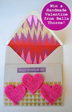 Win a handmade valentine from Bella Thorne