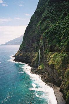 Madeira, Portugal, an island 310 miles off the coast of Morocco