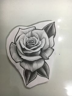 Rose By Detailedexpressionsdeviantartcom On At Deviantart Tattoo