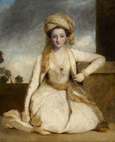 Mary Horneck, later Mrs. Francis Edward Gwyn (?1752-1840, By Sir Joshua Reynolds. Cliveden © National Trust
