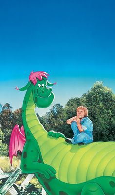 Pete's Dragon opened on this day in 1977. i watched this all the time when i was little :)