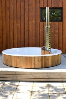 Terrass de skargards bain encastrer dans votre terrasse chauffage au bois bain nordique de - Bain nordique chauffage bois ...