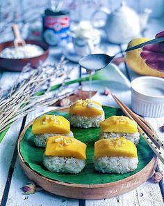 Mango Sticky Rice, Thai Dessert, Cookies, Eat, Desserts, Travel, Instagram, Food, Crack Crackers