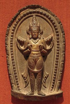 Surya, the Hindu Solar Deity Date: 11th–12th century Culture: Nepal (Kathmandu Valley) Medium: Gilt-copper alloy