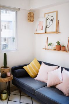 A Pair & A Spare | Small Spaces Series: How To Make Your Living Space Look (And Feel) Bigger