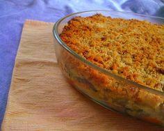 Bacalhau com broa - Fique a conhecer todas as receitas tradicionais portuguesas em: www.asenhoradomonte.com