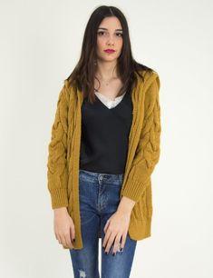 Γυναικεία ώχρα μονόχρωμη πλεκτή ζακέτα 309119Q #zaketa #gynaikeia #ζακετα #torouxo #plekto Sweaters, Fashion, Moda, Fashion Styles, Sweater, Fashion Illustrations, Sweatshirts, Pullover Sweaters, Pullover