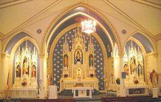 Father Kapaun's home town church (St. John's) in Pilsen, KS.
