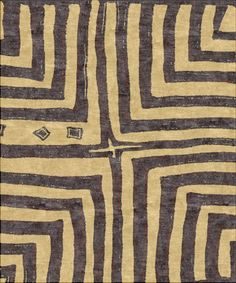 Kuba Cross | Robin Gray Design #textiles #rugs