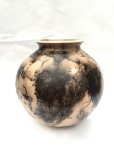 Horsehair Pottery by JohnSabosPottery on Etsy