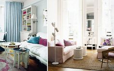 LOVE the pink room!!