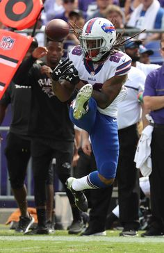 Bills-Ravens:   Monday, September 12, 2016  -   Buffalo Bills cornerback Ronald Darby appeared to have an interception in the third quarter -- but dropped it.  -   James P. McCoy / Buffalo News  News Sports Photographer James P. McCoy captured outstanding images from the Bills' season-opening loss in Baltimore. Here are our favorites