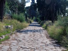 The Ancient Appian Way south of Rome