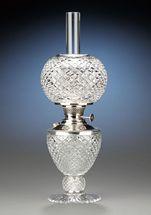 Brilliant Period Cut Glass Lamp
