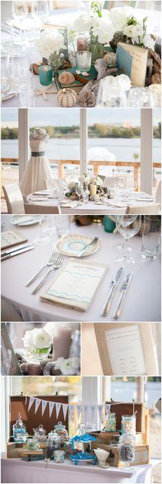 2012-10 rhein weiss Brunch Vintage Strand Hochzeit Lieschen und Ruth