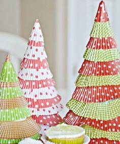 Bastelideen Weihnachten Adventszeit Weihnachtsbaum